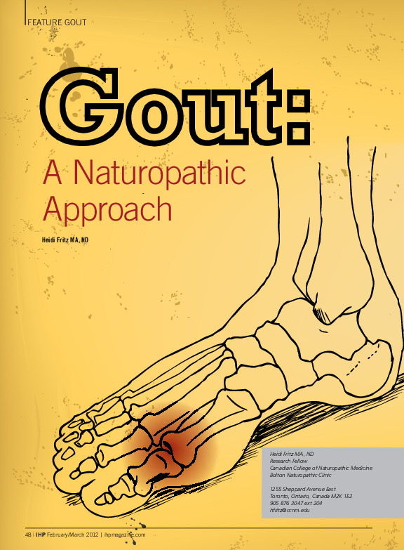 Gout: A Naturopathic Approach