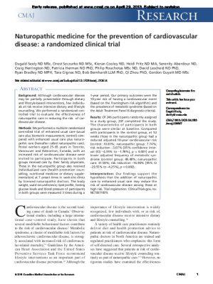Naturopathic medicine for heart disease